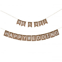 ΓΙΡΛΑΝΤΑ  MR&MRS + HAPPY WEDDING