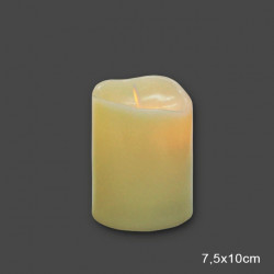 18f0308fc5cb LED ΚΕΡΙ ΜΕ ΜΠΑΤΑΡΙΕΣ 7.5 Χ 10 cm