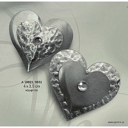 Καρφίτσα Καρδιά Αμμοβολή 4 x 3.5 cm